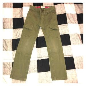 Oshkosh Girls Olive Green Cargo Pants Size 6